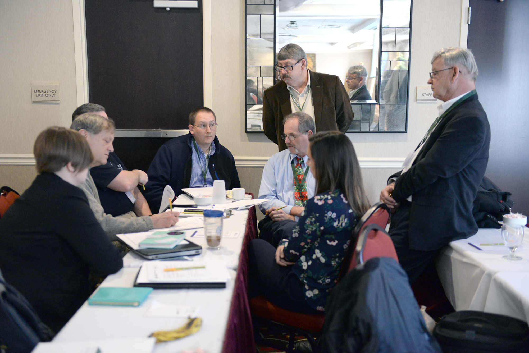 Participants at the Connect Your Economy Practical Seminar in Pikeville attend a breakout session. The two-day seminar gave practical information and resources to communities regarding a demand-driven approach to economic development through broadband.