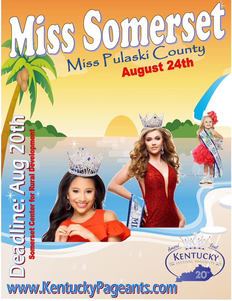 Miss Somerset/Miss Pulaski County pageant @ The Center for Rural Development